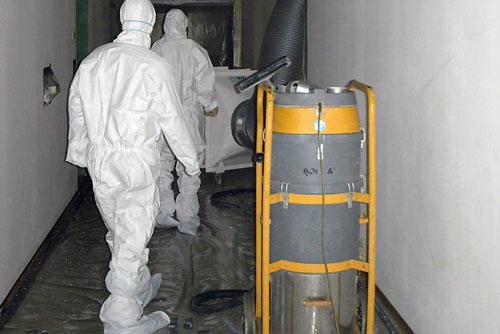 Asbest In Fußbodenplatten ~ Schadstoffsanierung schadstoffentsorgung howe umwelttechnik gmbh